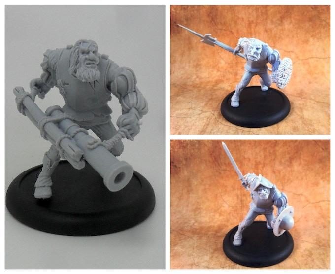 Ogres & Trolls for hire!