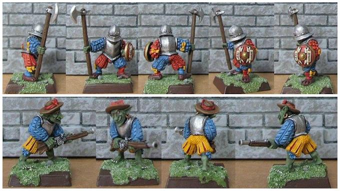 Halberd & Flintlock by White Knight miniatures