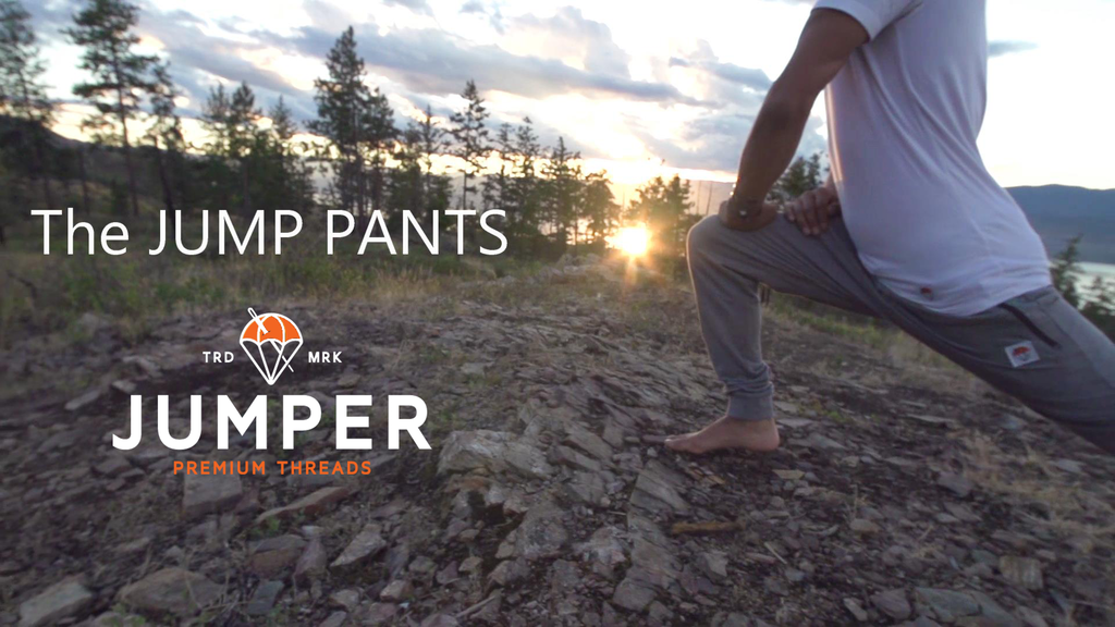 The JUMP PANTS | not your average sweatpants project video thumbnail