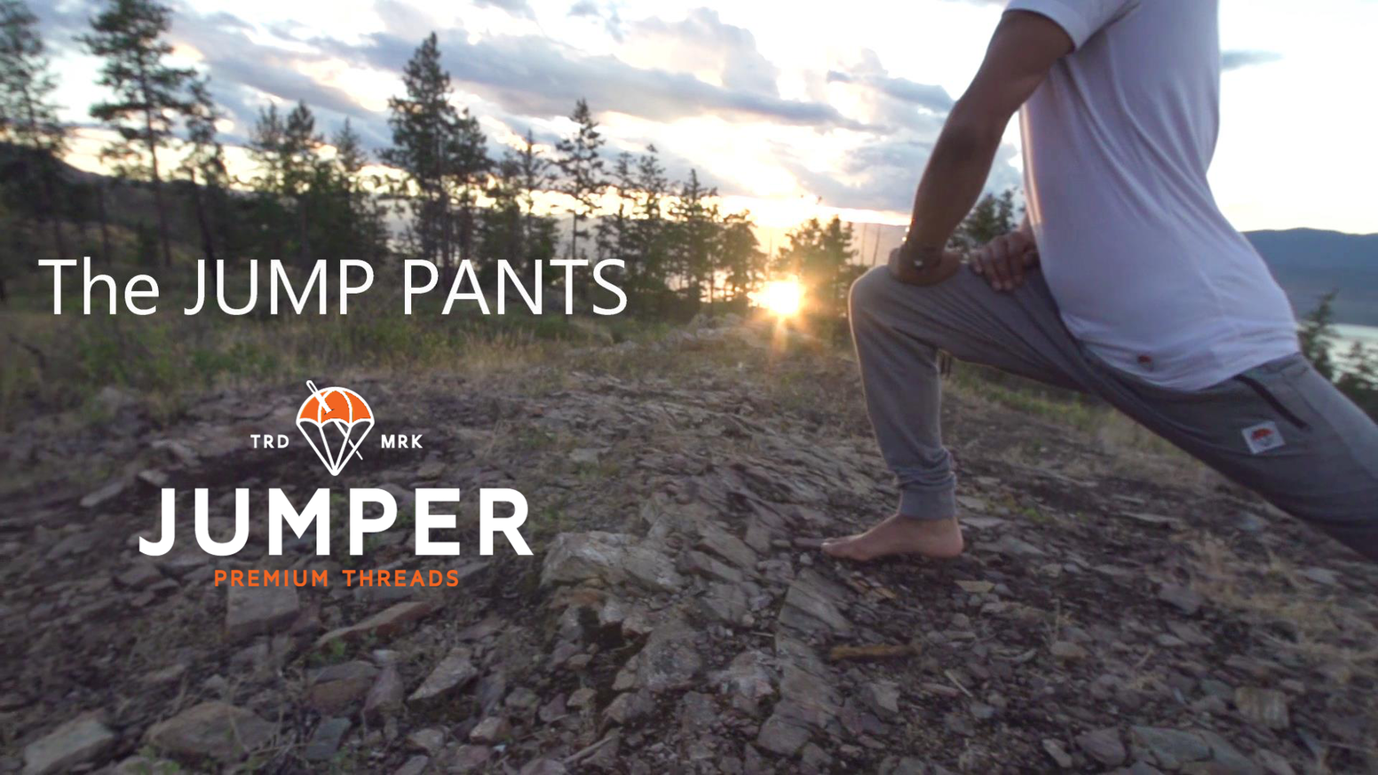 The most ridiculously comfortable and innovated sweatpants on the planet.