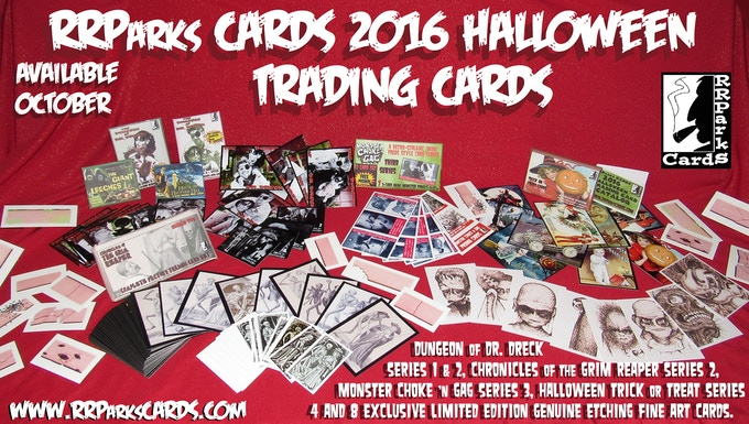 rrparks cards halloween trading card sets. Black Bedroom Furniture Sets. Home Design Ideas