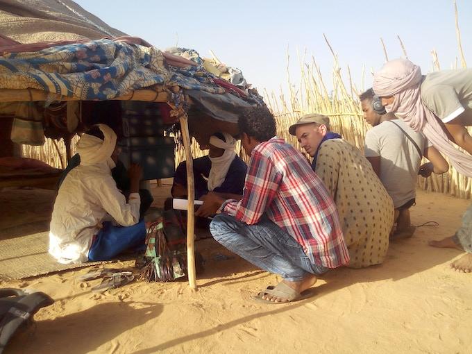 film production, Agadez 2016