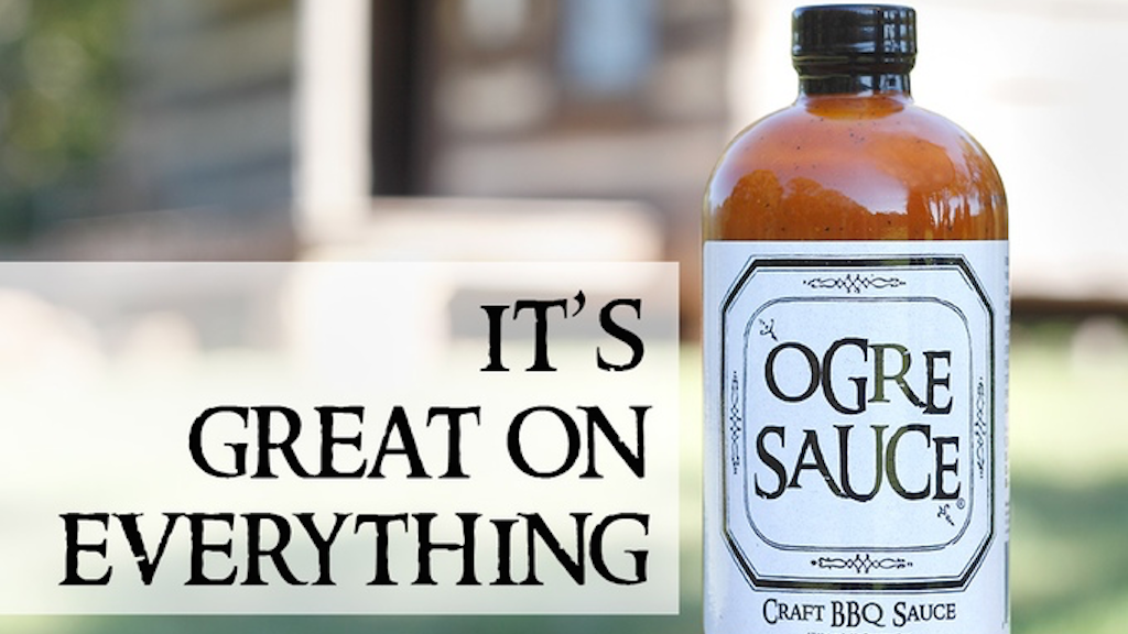 Ogre Sauce - All-Purpose Craft BBQ Sauce project video thumbnail