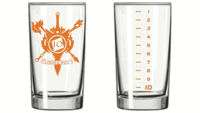 Ten-Sided Tumbler - 8 oz - $12 Add-On