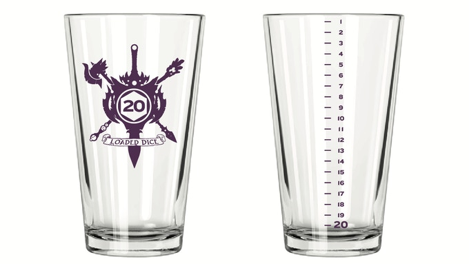 Twenty-Sided Pint - 16 oz - $14 Add-On