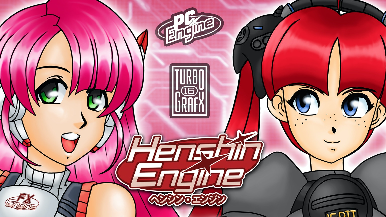 Henshin Engine is a new 2D action platformer developed for real 16-bit hardware from the ground up based on the world of video games!