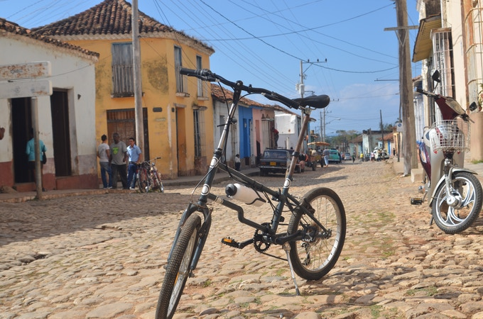 One of our first prototypes at our trip to Cuba in 2010