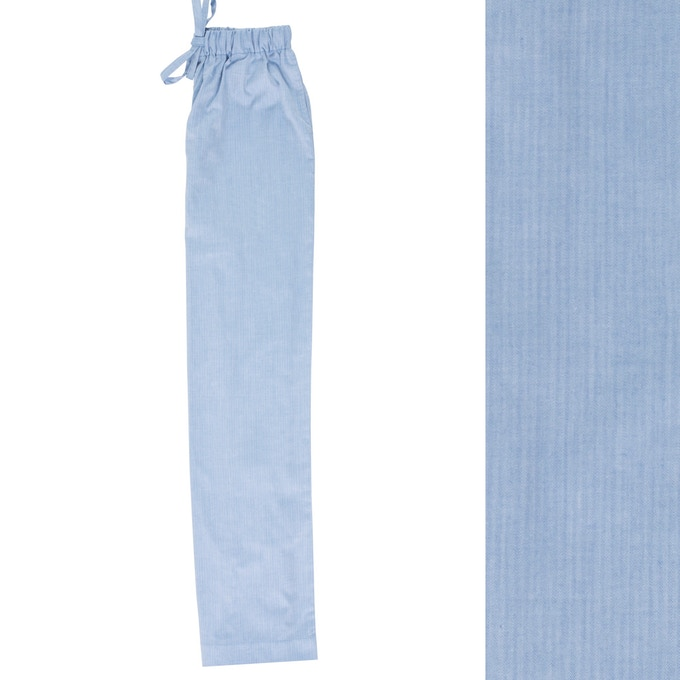 Men's Blue Pyjama Trouser