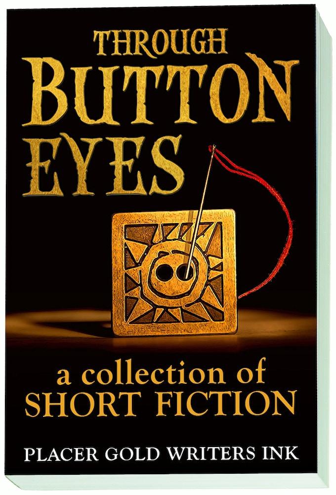 """""""Through Button Eyes"""" final book cover"""