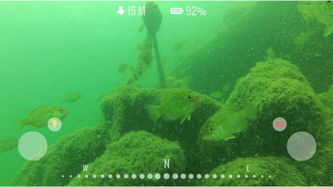 With the Fathom app's compass and depth readings, navigating underwater has never been easier