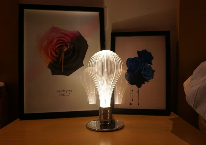 a perfect decorative light bulb for bedroom