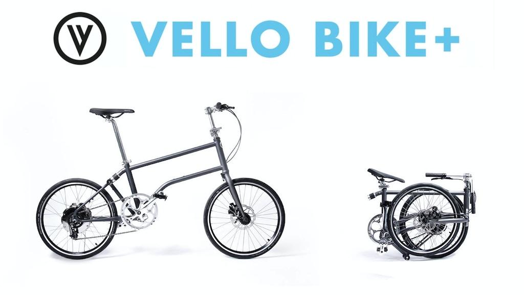VELLO BIKE+ The First Self-Charging Folding E-Bike project video thumbnail