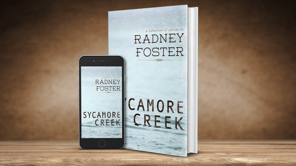 RADNEY FOSTER - Sycamore Creek: Book and CD/stories & songs project video thumbnail