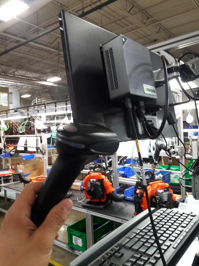 BioGreenPC - Mounted in Production Line