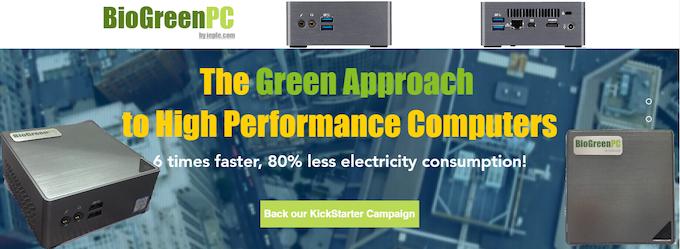 BioGreenPC - A Green Approach to High Performance Computers