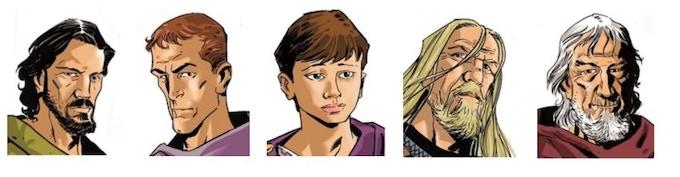 Principal cast of Amiculus