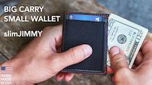 slimJIMMY Slim RFID Wallet For Cards & Cash