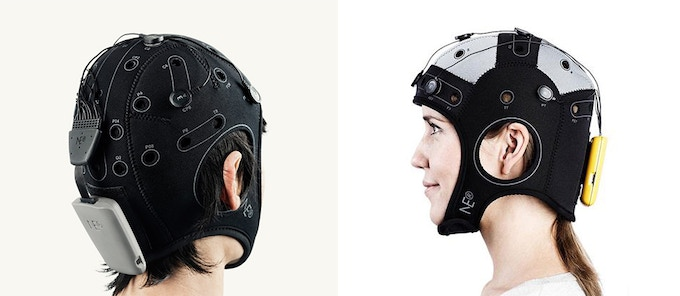 The StarStim - capable of EEG measurement and tACS stimulation