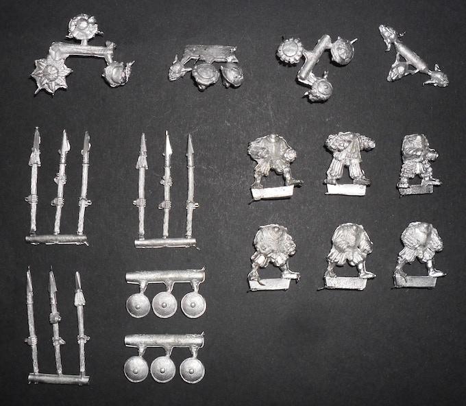 Goblin Spearmen (advancing)