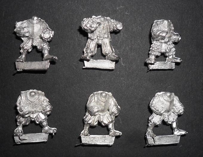 Goblin / Halfling bodies 'advancing'