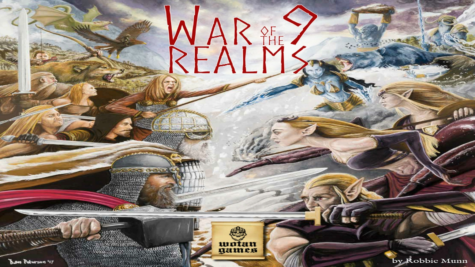 War of the Nine Realms by Laurence O\'Brien » Merry Christmas You ...