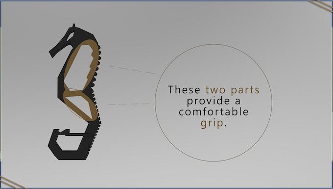 Handling is comfortable.