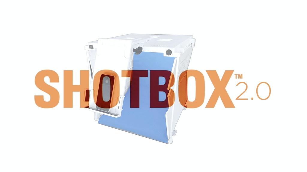 SHOTBOX 2.0 :: The Pop-Up Photo Light Studio Upgraded project video thumbnail