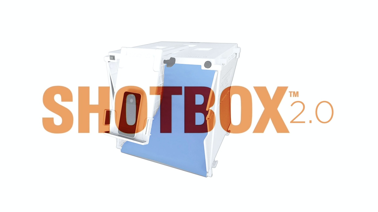 SHOTBOX 2.0 :: The Essential Pop-Up Photo Light Studio gives you professional quality pictures with even a basic phone camera.