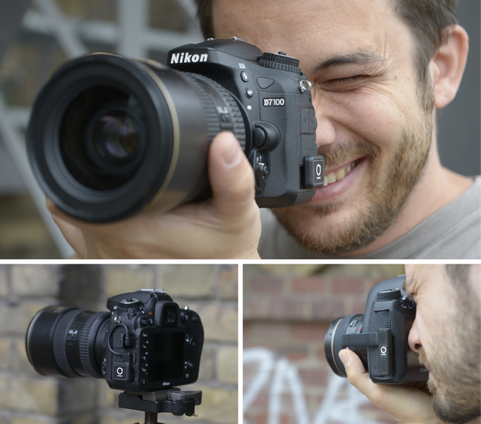 Unleashed models N3 (also with optional cable) on Nikon D7100 and C2 on Canon 6D