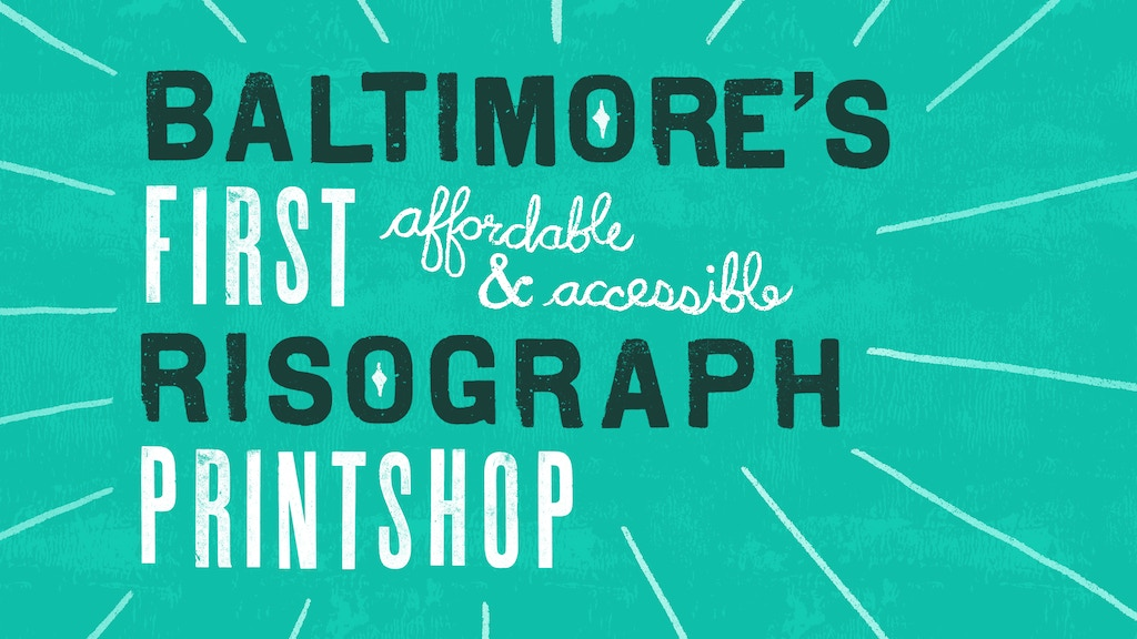 Baltimore's First Risograph Print Shop (at PaperBase) project video thumbnail