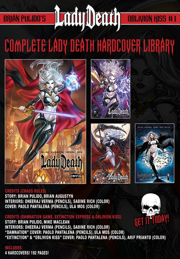 COMPLETE LADY DEATH HARDCOVER LIBRARY ($140 PLEDGE)