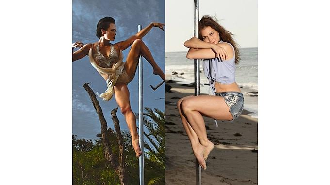 Natasha Wang and Arloa Reston
