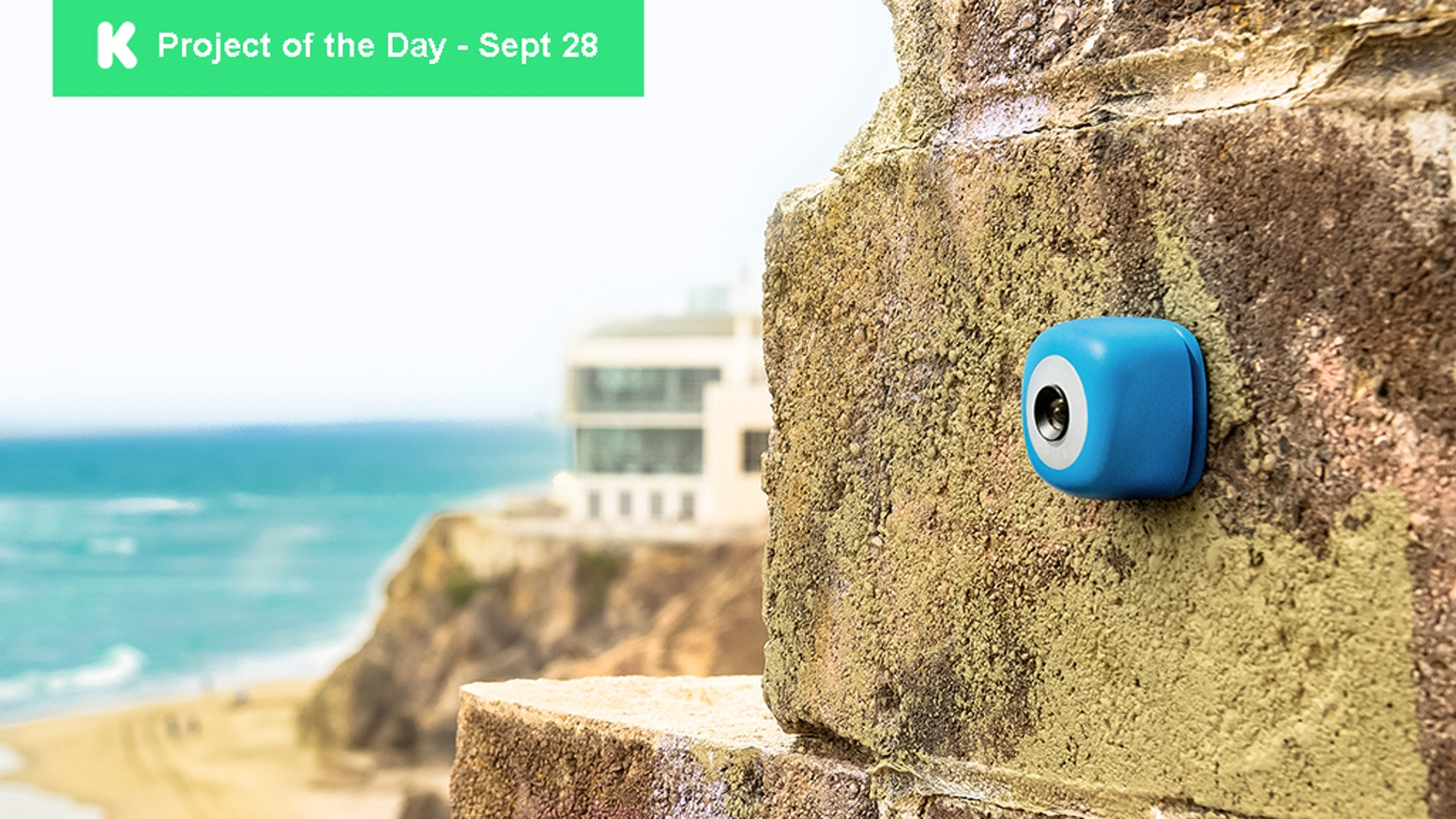 Stick Podo anywhere to capture any moment and any angle, with full wireless control.