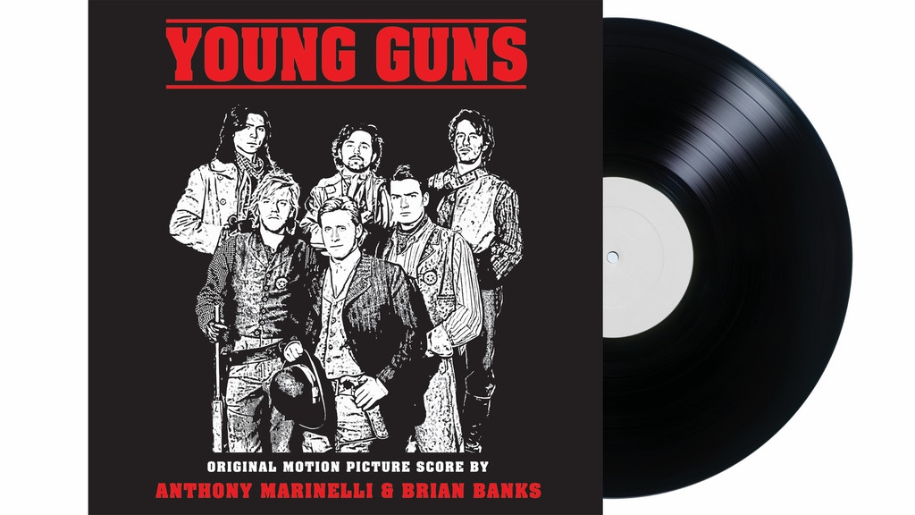 Young Guns Soundtrack on Vinyl (NEVER BEFORE RELEASED)! project video thumbnail