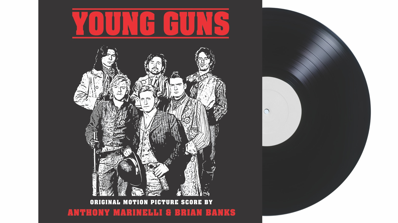 Support our independent record label as we release, for the first time ever, the epic score from the classic 80s film, YOUNG GUNS!