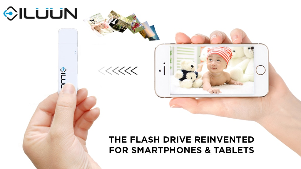 iLuun: The Smart Wireless Storage Drive For Iphone & Android project video thumbnail