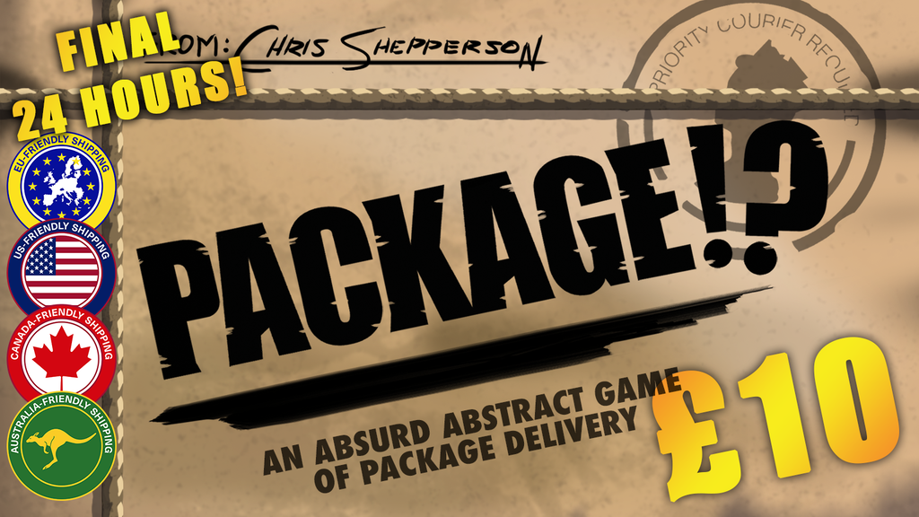 Package!? - An abstract tabletop game project video thumbnail