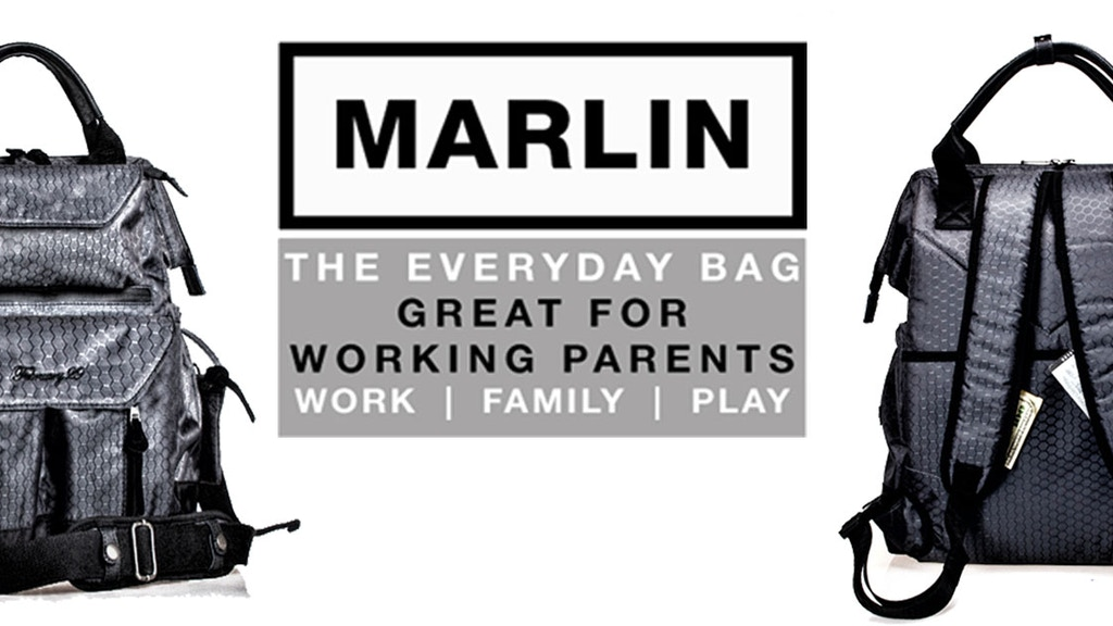 Marlin - The everyday bag for working parents! project video thumbnail