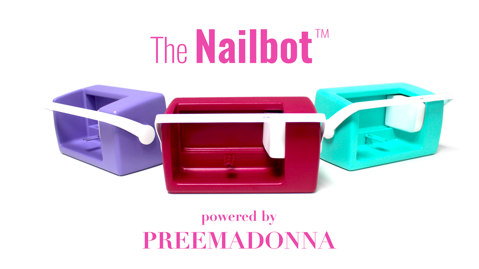 Nailbot Prints Custom Art Directly On Nails With Your Phone In 5 Seconds Join The