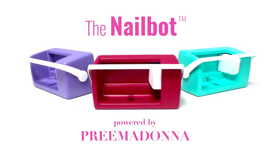 Nailbot - The Smartphone Nail Art Printer project video thumbnail