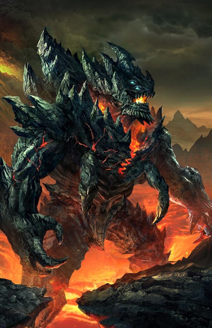 Kaiju art by Tan Ho SIm