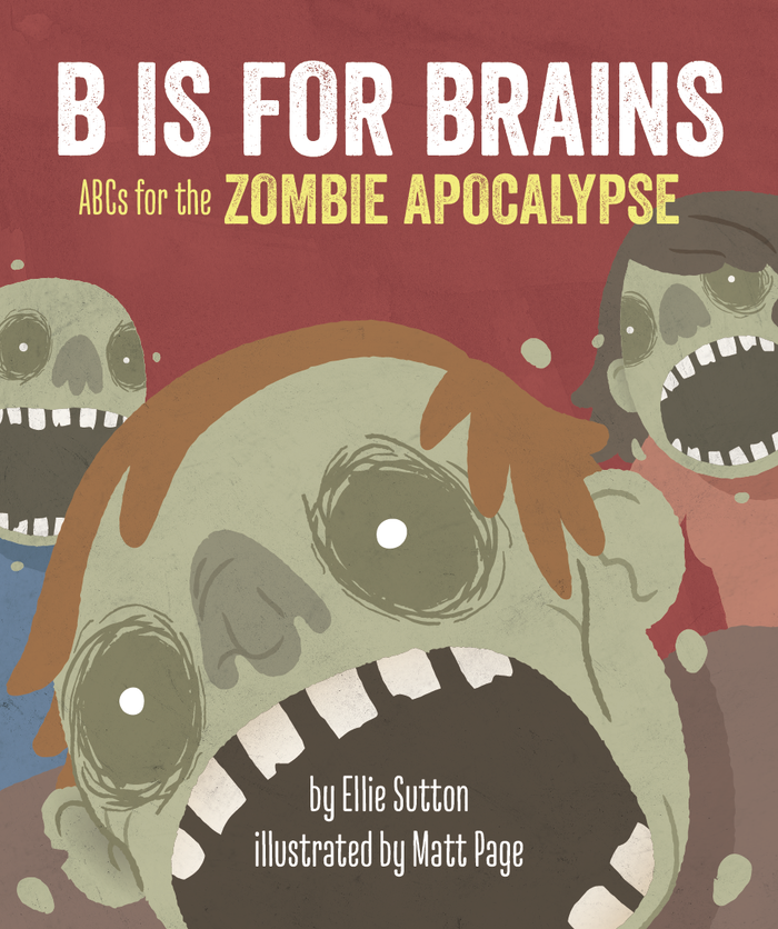 It's never too early to teach your kids about the zombie apolcalypse.  A playful zombie themed ABC book for all ages.