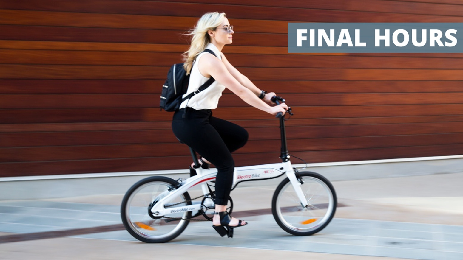 The coolest and most convenient Folding Electric Bike. www.electrobike.com