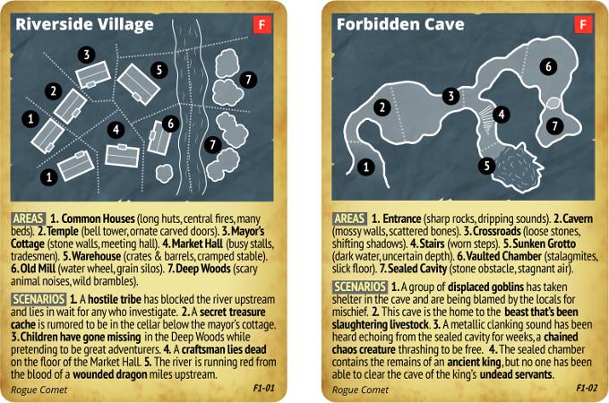 Prototype Fantasy Cards