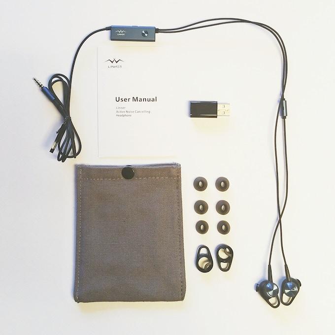 Linner (3.5mm audio jack) package