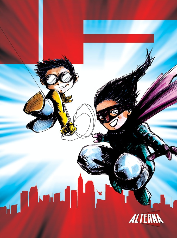 2016's IF Anthology has a theme of super powers with a cover by series creator Peter Simeti