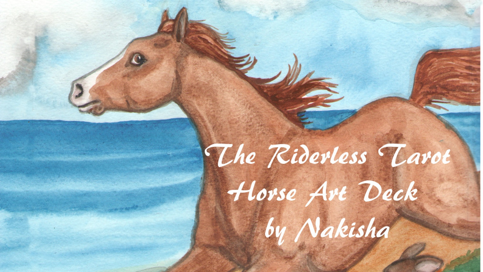 A New Tarot deck featuring Horses by the creator of the Rabbit Tarot.