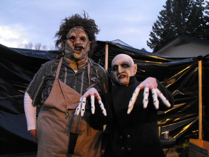 Leatherface & Nosferatu 2011