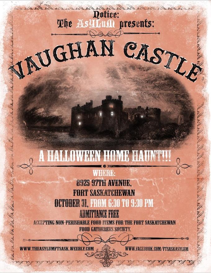 Vaughan Castle Poster