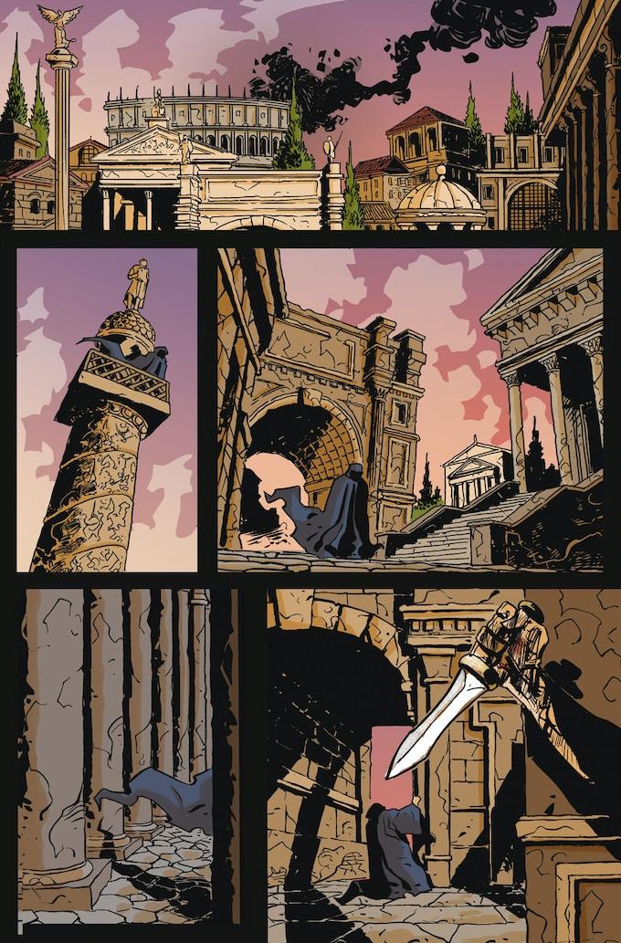 Dangers still lurk in Rome's shadows...